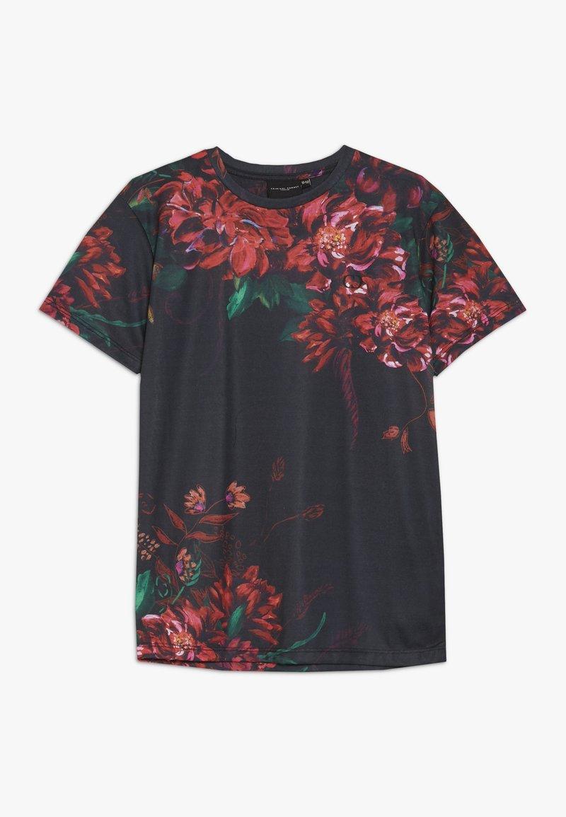 Criminal Damage - KAI TEE - Print T-shirt - black/red