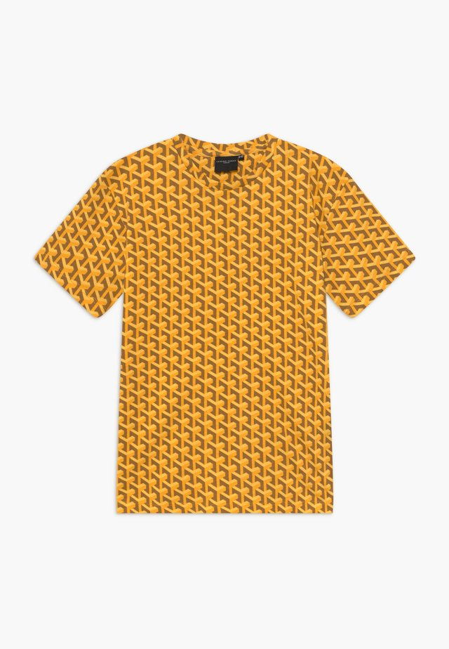 LOUVRE TEE - Camiseta estampada - yellow