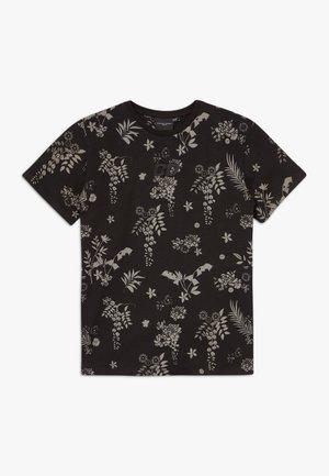 JULIUS TEE - T-shirt print - black