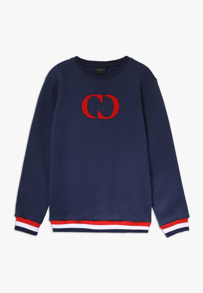 Criminal Damage - IRVINE - Sweater - navy/white
