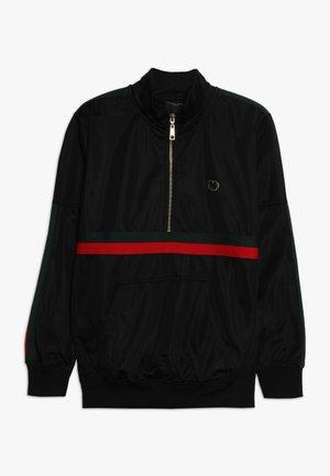 WISE CUCCIO - Sweatshirt - black/red