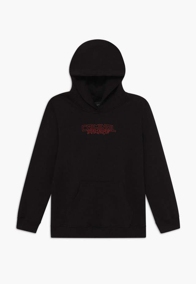 DRAGON HOOD - Kapuzenpullover - black