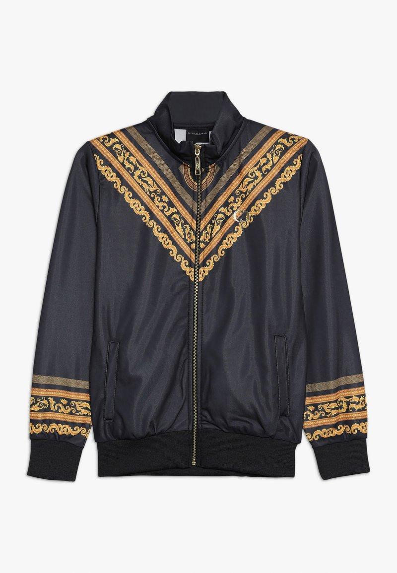 Criminal Damage - TRACK - Zip-up hoodie - black/multi