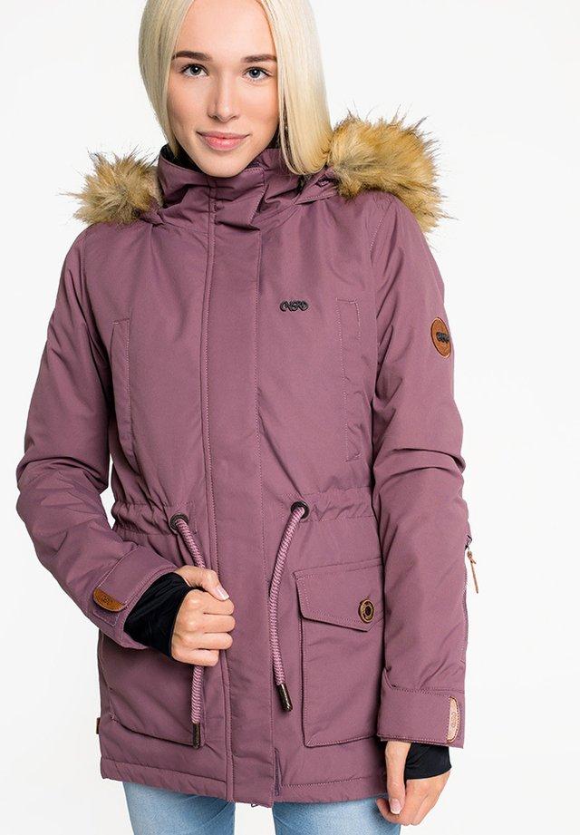 FLORA - Winter coat - wine