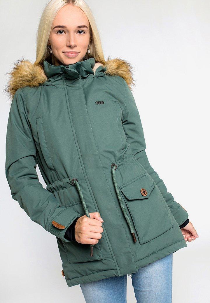 CNSRD - FLORA - Veste d'hiver - green