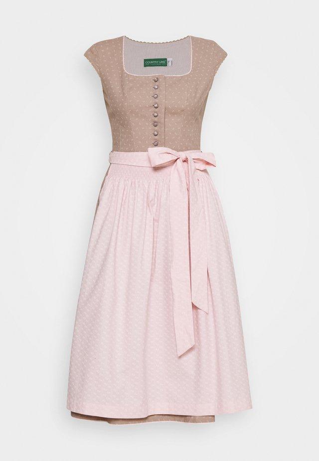Dirndl - natur rosa