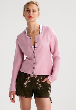 Strickjacke - rosa