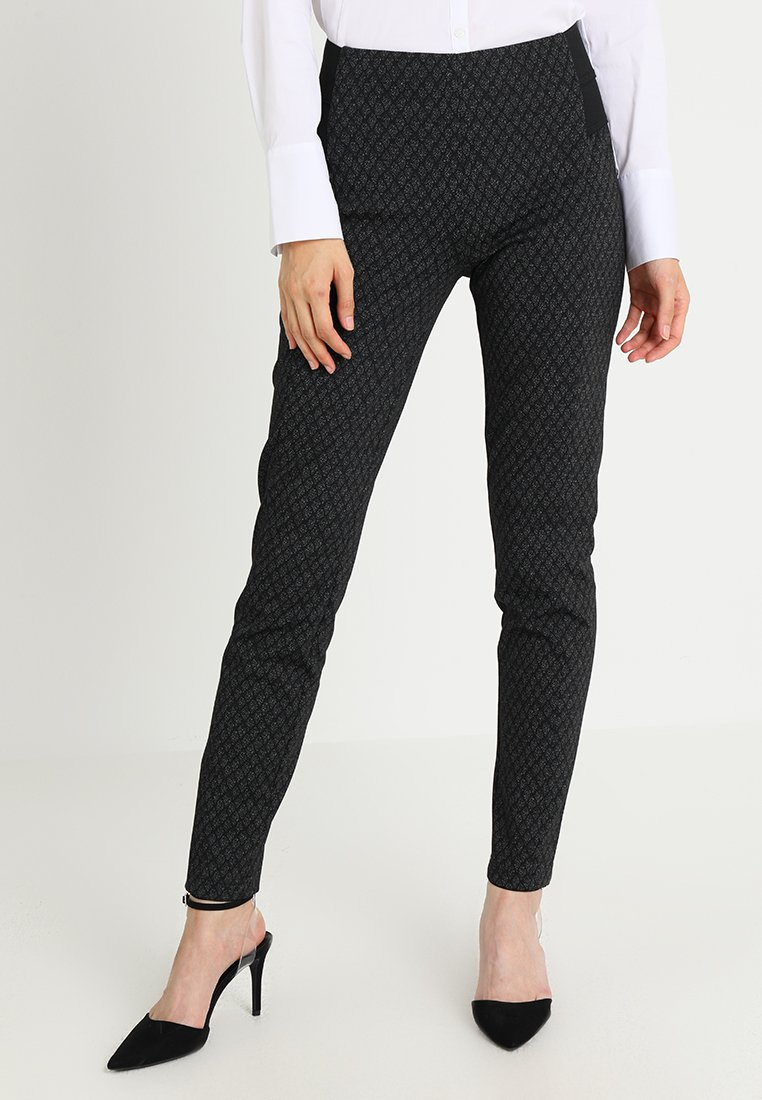comma - Trousers - anthracite