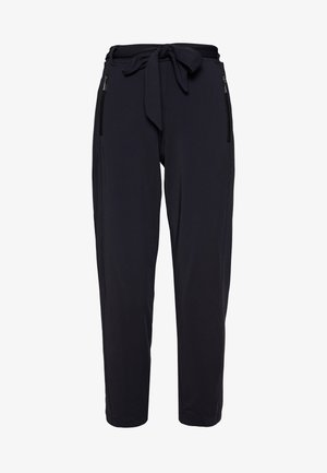 TROUSERS - Tygbyxor - ink blue