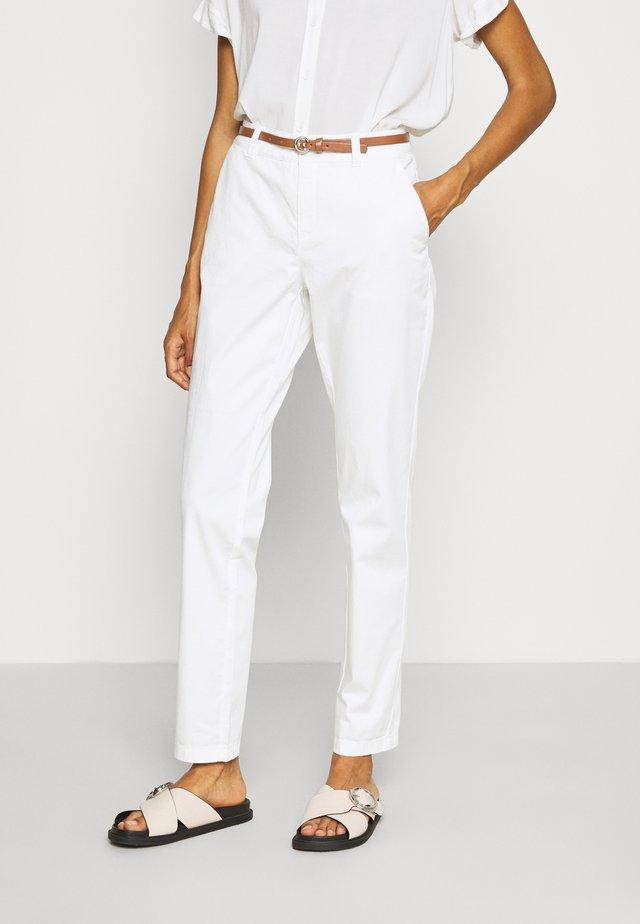 Pantalones chinos - offwhite