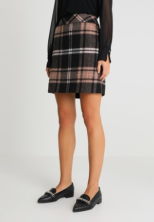 KURZ - Minifalda - brown