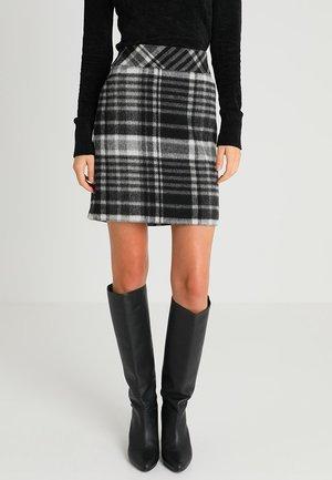 KURZ - Mini skirt - anthrazit