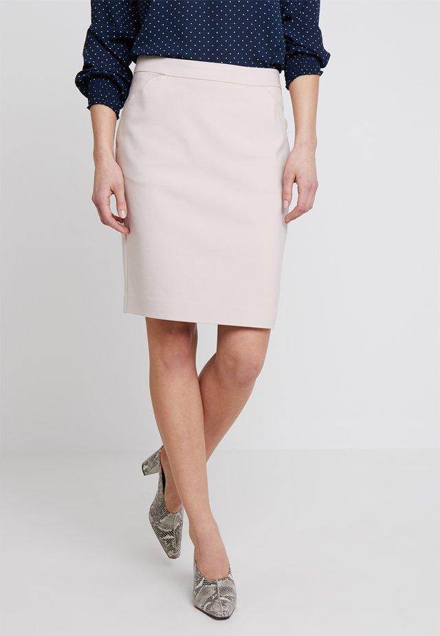 Blyantnederdel / pencil skirts - sand