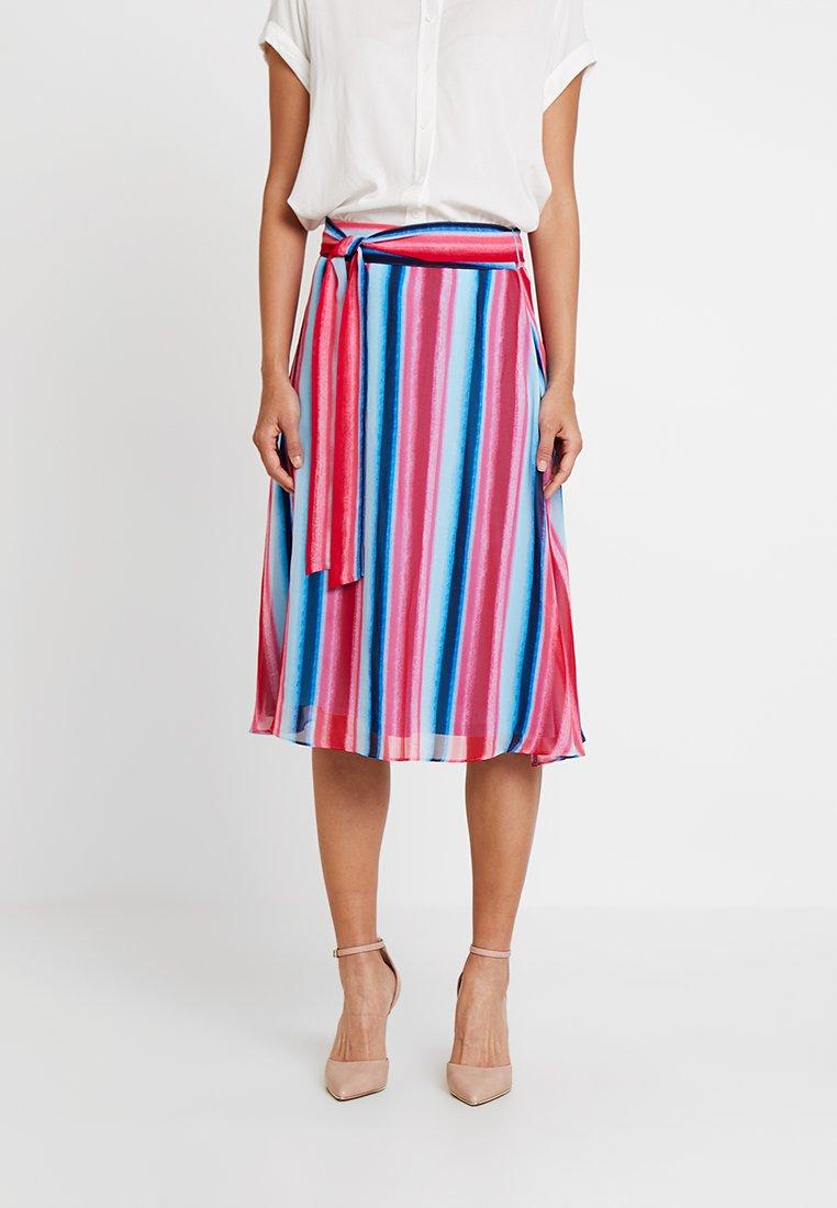comma - KURZ - A-snit nederdel/ A-formede nederdele - multi-coloured
