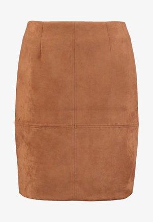 Minifalda - camel