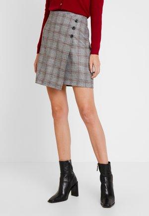 SKIRT SHORT - Mini skirt - dark classic