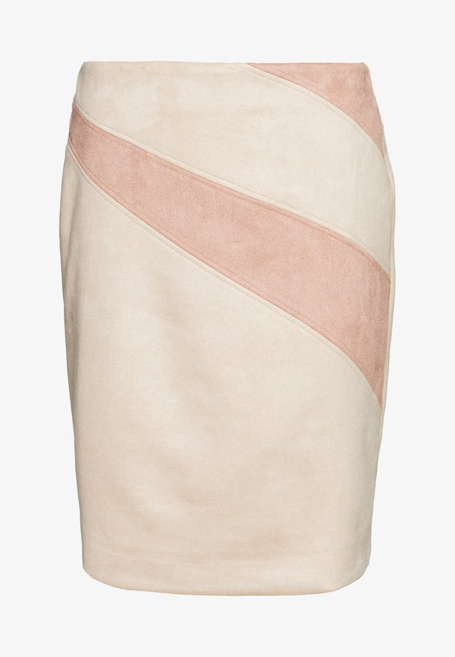 KURZ - Falda de tubo - sand