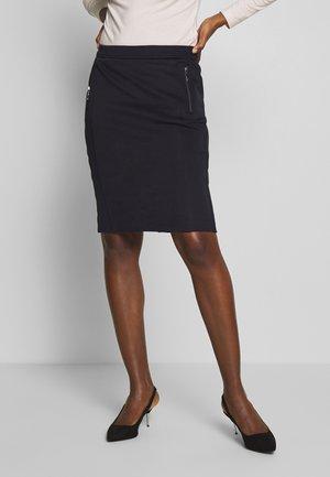 SKIRT - Pencil skirt - ink blue