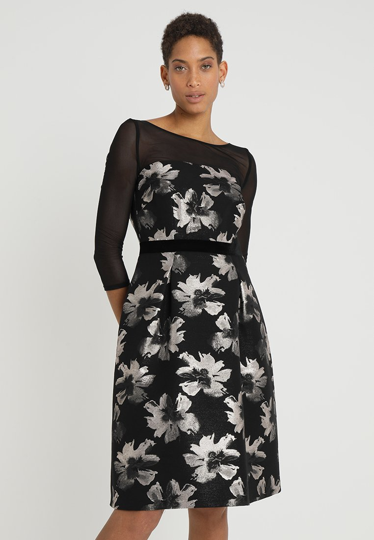 comma - KURZ - Cocktail dress / Party dress - black