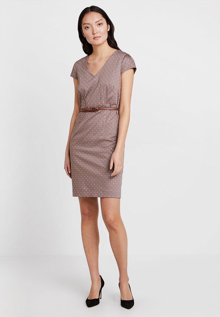 comma - Shift dress - taupe