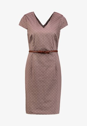 Shift dress - taupe