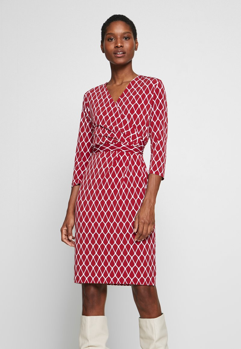 comma - Shift dress - red