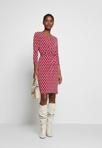 comma - Shift dress - red - 1