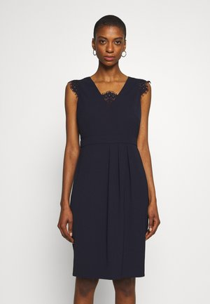 DRESS SHORT - Vestito elegante - navy