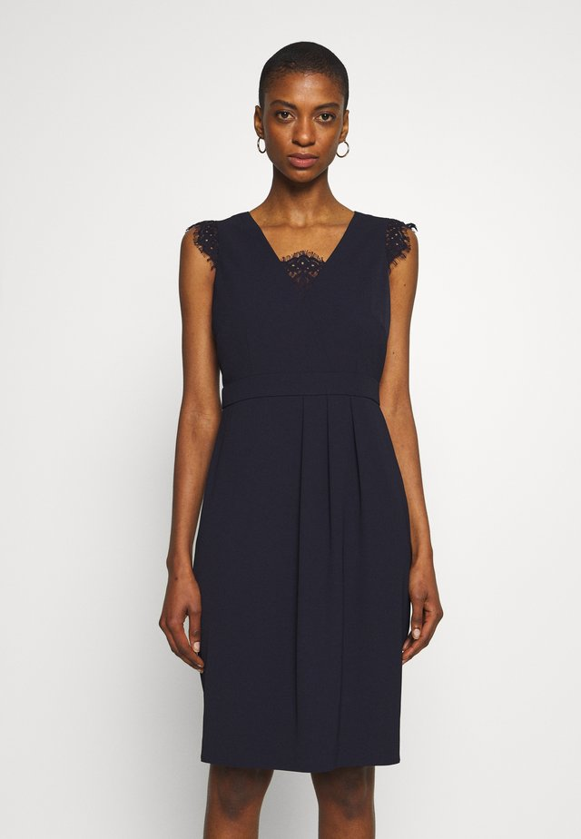 DRESS SHORT - Cocktailjurk - navy