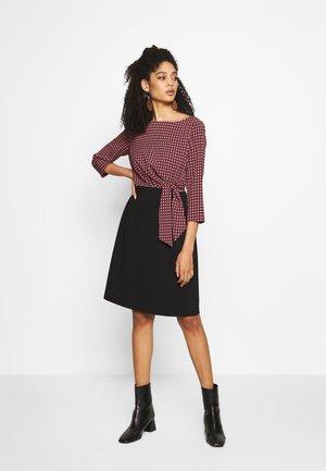 DRESS - Kjole - grey/black