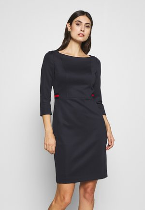 DRESS SHORT - Shift dress - ink blue