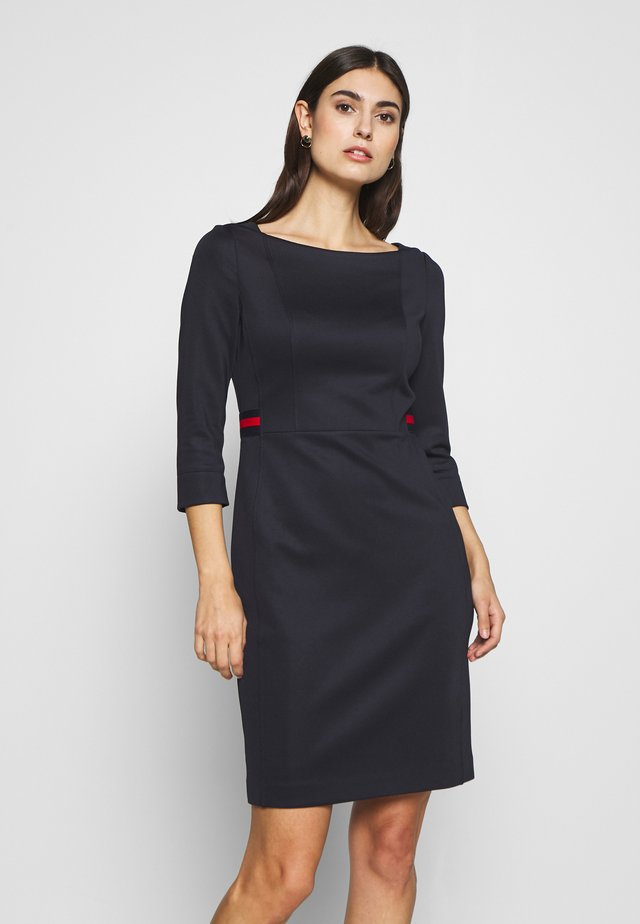 DRESS SHORT - Vestido de tubo - ink blue