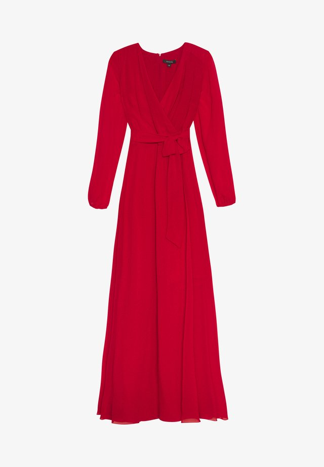 Cocktailklänning - dark red