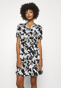 comma - Košilové šaty - black - 0