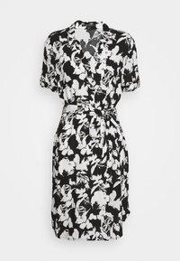 comma - Košilové šaty - black - 4