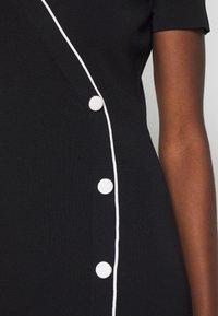 comma - DRESS - Shift dress - black - 5