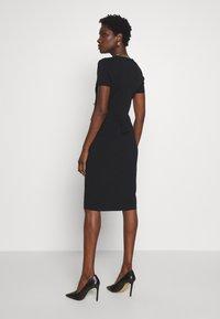 comma - DRESS - Shift dress - black - 2
