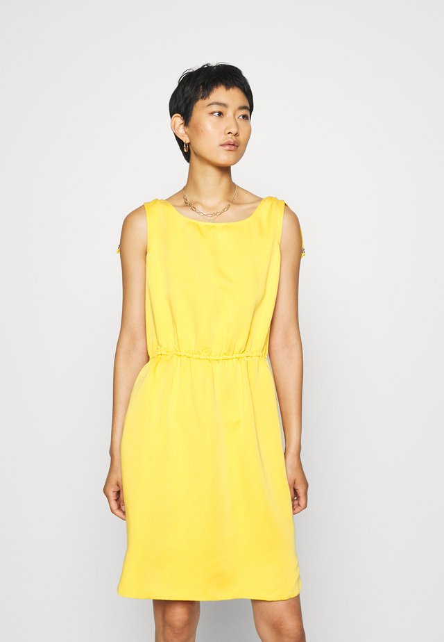 Freizeitkleid - yellow