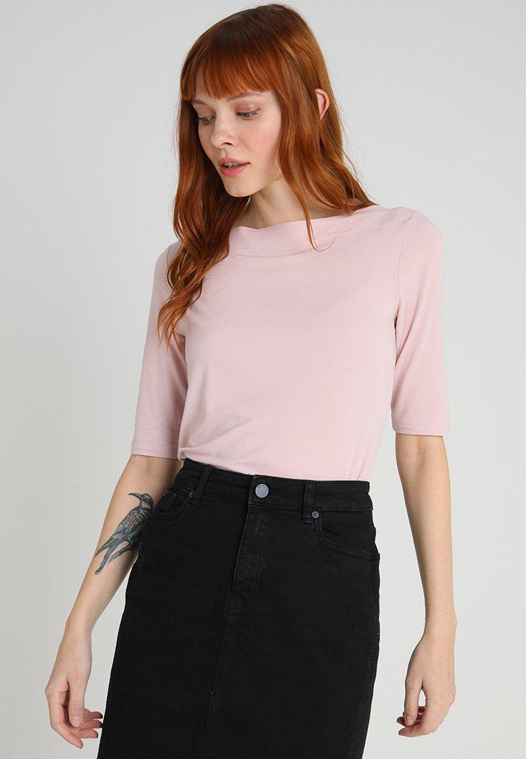 comma - Basic T-shirt - rose
