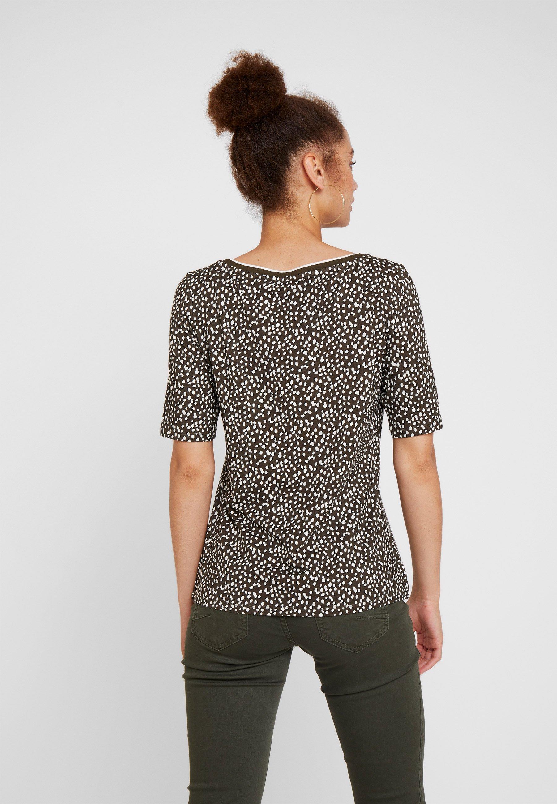 shirt ImpriméKhaki ImpriméKhaki Comma Comma T T shirt Comma j35RL4A