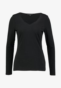 comma - Topper langermet - black - 3