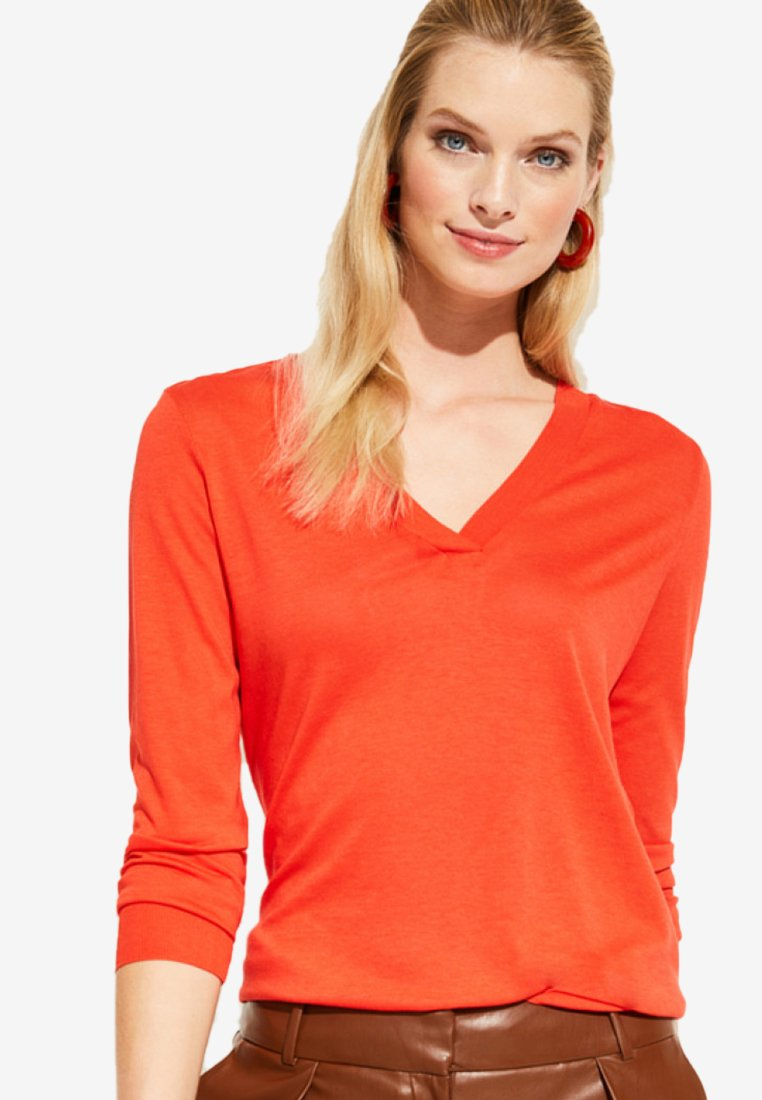 comma - Long sleeved top - orange
