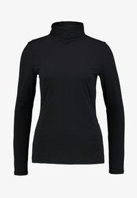 comma - Top sdlouhým rukávem - black - 3