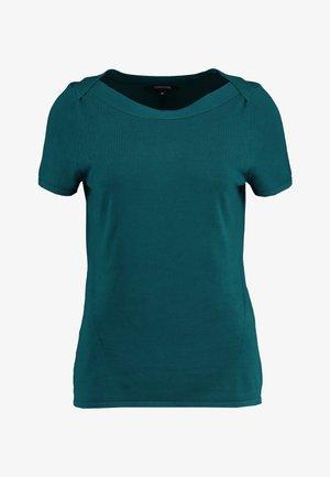 KURZARM - T-shirt basic - petrol