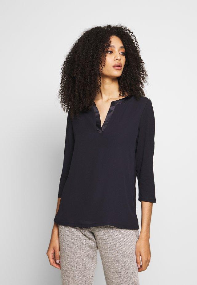 Long sleeved top - ink blue