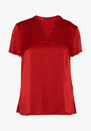 BLOUSE SHORTSLEEVE - Bluzka - scarlet red