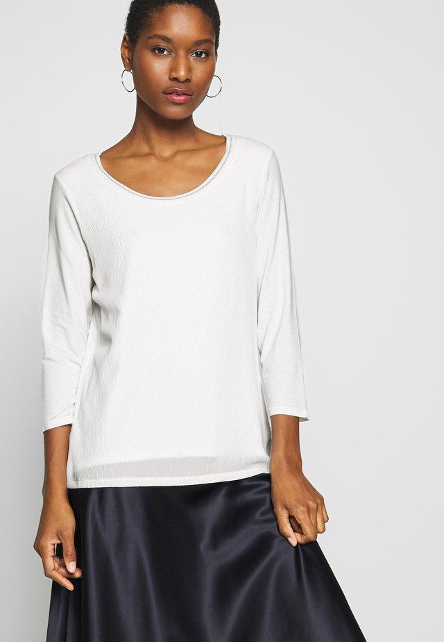 SLEEVE - Långärmad tröja - white