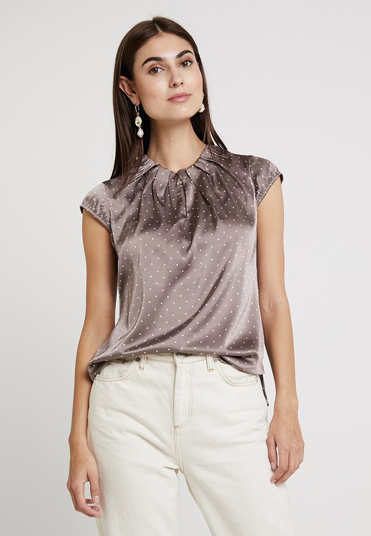 comma - Bluse - taupe