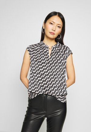 BLOUSE SHORTSLEEVE - Camicetta - chains
