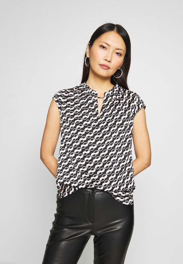 BLOUSE SHORTSLEEVE - Blouse - chains